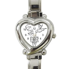 Maybe I m A Lion Heart Italian Charm Watch  by Viewtifuldrew