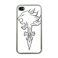 Maybe I m A Lion Apple Iphone 4 Case (clear)