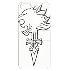 Maybe I m A Lion Apple Iphone 5 Hardshell Case With Stand by Viewtifuldrew