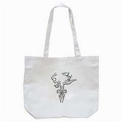 Maybe I m A Lion Tote Bag (white) by Viewtifuldrew