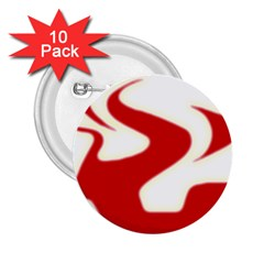 Fever Time 2 25  Button (10 Pack) by Viewtifuldrew