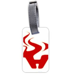 Fever Time Luggage Tag (one Side)