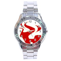 Fever Time Stainless Steel Watch by Viewtifuldrew