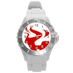 Fever Time Plastic Sport Watch (large) by Viewtifuldrew