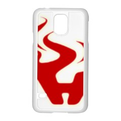 Fever Time Samsung Galaxy S5 Case (white) by Viewtifuldrew