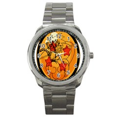 The Search Continues Sport Metal Watch by Viewtifuldrew