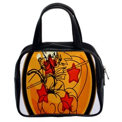 The Search Continues Classic Handbag (two Sides) by Viewtifuldrew