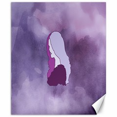 Profile Of Pain Canvas 8  X 10  (unframed) by FunWithFibro