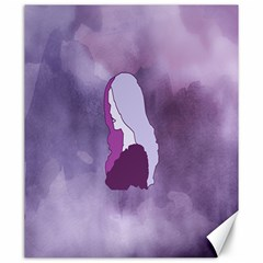 Profile Of Pain Canvas 20  X 24  (unframed) by FunWithFibro
