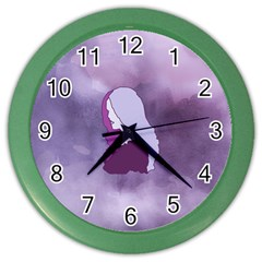 Profile Of Pain Wall Clock (color) by FunWithFibro