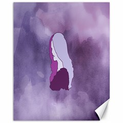 Profile Of Pain Canvas 11  X 14  (unframed) by FunWithFibro