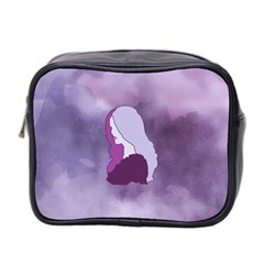 Profile Of Pain Mini Travel Toiletry Bag (two Sides) by FunWithFibro
