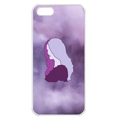 Profile Of Pain Apple Iphone 5 Seamless Case (white) by FunWithFibro