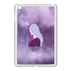 Profile Of Pain Apple Ipad Mini Case (white) by FunWithFibro