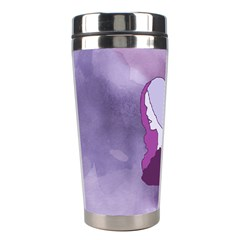Profile Of Pain Stainless Steel Travel Tumbler by FunWithFibro