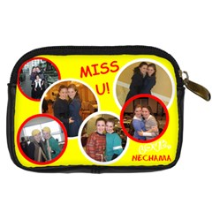 Rochel Miriam Present By Nechama   Digital Camera Leather Case   Xe7r2tzprzio   Www Artscow Com Back