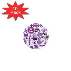 Fms Mash Up 1  Mini Button Magnet (10 Pack) by FunWithFibro
