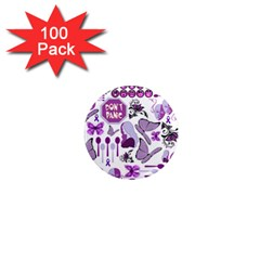 Fms Mash Up 1  Mini Button Magnet (100 Pack) by FunWithFibro