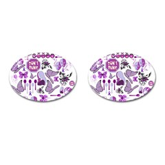 Fms Mash Up Cufflinks (oval) by FunWithFibro