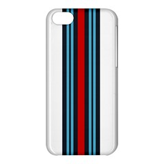 Martini White No Logo Apple Iphone 5c Hardshell Case
