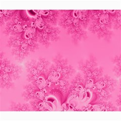 Soft Pink Frost Of Morning Fractal Canvas 20  X 24  (unframed) by Artist4God