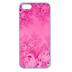 Soft Pink Frost Of Morning Fractal Apple Seamless Iphone 5 Case (color) by Artist4God