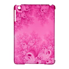 Soft Pink Frost Of Morning Fractal Apple Ipad Mini Hardshell Case (compatible With Smart Cover) by Artist4God