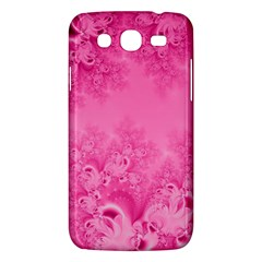Soft Pink Frost Of Morning Fractal Samsung Galaxy Mega 5 8 I9152 Hardshell Case  by Artist4God