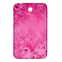 Soft Pink Frost Of Morning Fractal Samsung Galaxy Tab 3 (7 ) P3200 Hardshell Case  by Artist4God