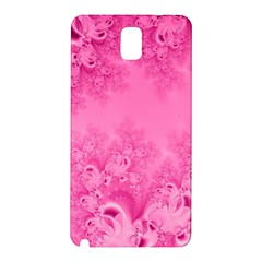 Soft Pink Frost Of Morning Fractal Samsung Galaxy Note 3 N9005 Hardshell Back Case by Artist4God