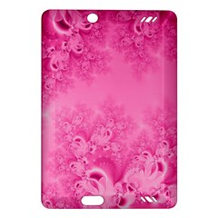Soft Pink Frost Of Morning Fractal Kindle Fire Hd 7  (2nd Gen) Hardshell Case by Artist4God