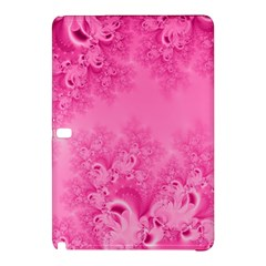Soft Pink Frost Of Morning Fractal Samsung Galaxy Tab Pro 10 1 Hardshell Case by Artist4God