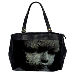 Angel Face Oversize Office Handbag (one Side) by CrackedRadish