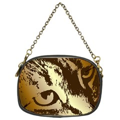 Tigre Chat Chain Purse (one Side) by CrackedRadish