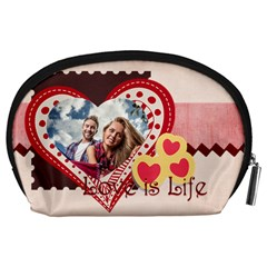 Love By Ki Ki   Accessory Pouch (large)   0q62jh184612   Www Artscow Com Back