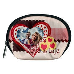 Love By Ki Ki   Accessory Pouch (medium)   Kli1yfd62f9f   Www Artscow Com Front