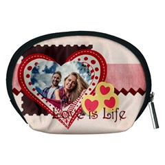 Love By Ki Ki   Accessory Pouch (medium)   Kli1yfd62f9f   Www Artscow Com Back