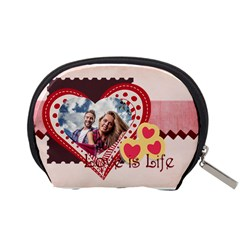 Love By Ki Ki   Accessory Pouch (small)   Axukezmuqdwu   Www Artscow Com Back