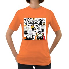 Halloween Mashup Women s T Shirt (colored) by StuffOrSomething