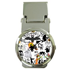Halloween Mashup Money Clip With Watch by StuffOrSomething