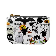 Halloween Mashup Coin Change Purse by StuffOrSomething