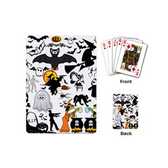 Halloween Mashup Playing Cards (Mini) by StuffOrSomething
