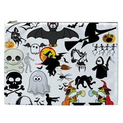 Halloween Mashup Cosmetic Bag (xxl)