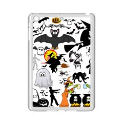 Halloween Mashup Apple iPad Mini 2 Case (White)