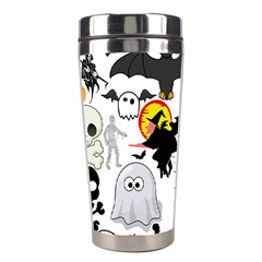 Halloween Mashup Stainless Steel Travel Tumbler