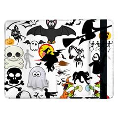 Halloween Mashup Samsung Galaxy Tab Pro 12 2  Flip Case by StuffOrSomething