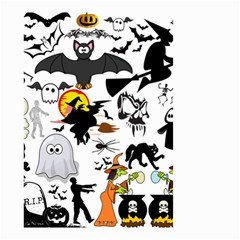 Halloween Mash Up Small Garden Flag (two Sides) by StuffOrSomething