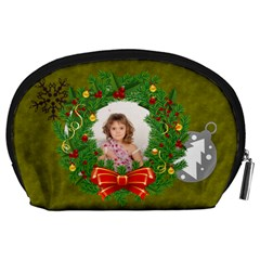 Xmas By Debe Lee   Accessory Pouch (large)   0a5tumamqta6   Www Artscow Com Back