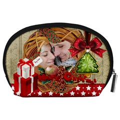 Xmas By Debe Lee   Accessory Pouch (large)   4a11rg7s0vh0   Www Artscow Com Back