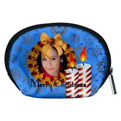 Xmas By Debe Lee   Accessory Pouch (medium)   38opleupvqxn   Www Artscow Com Back